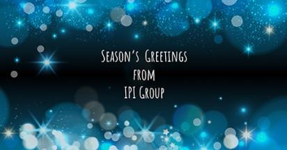 Bonnes fêtes de fin d'année de la part d'IPI